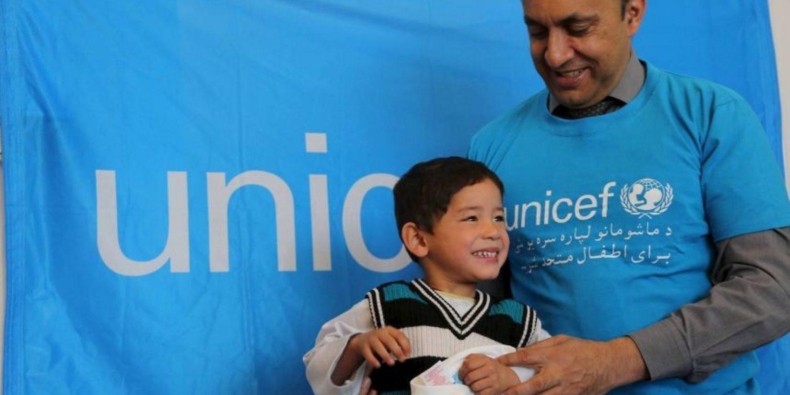 Se espera que en un futuro, pueda conocer a Lionel Messi Foto:facebook.com/afghanistanunicef/
