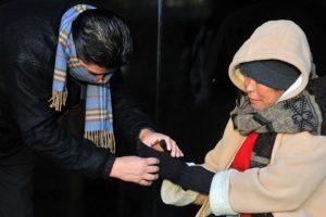 Los efectos del frente frío 12 ya se perciben en el país. Foto:AFP