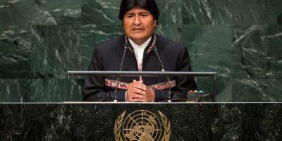 Juan Evo Morales Ayma fue elegido en 2005 como sexagésimo quinto presidente de Bolivia. Foto:Getty Images