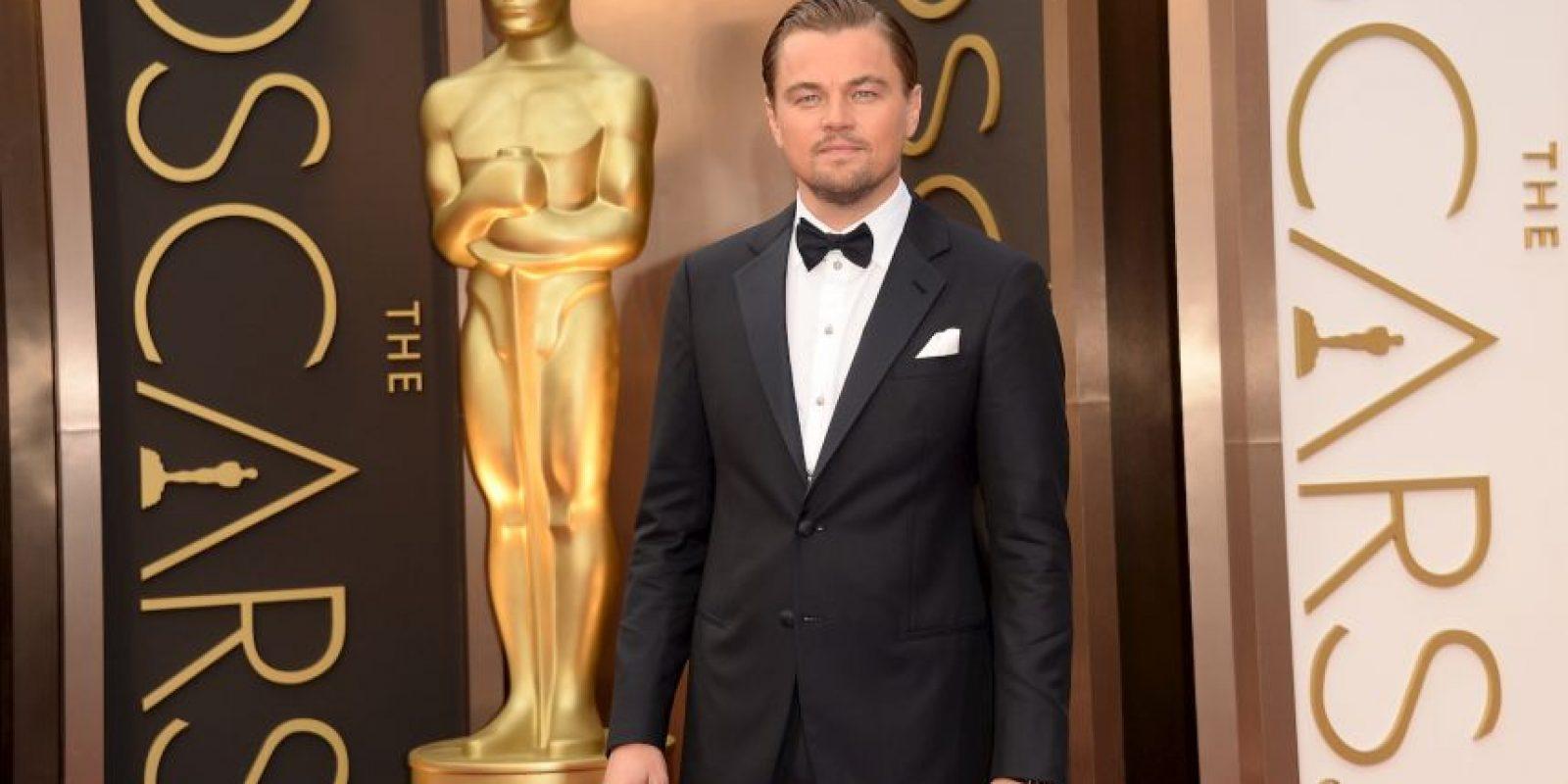 """Solo lo ganó una vez por """"El Renacido"""" Foto:Getty Images"""