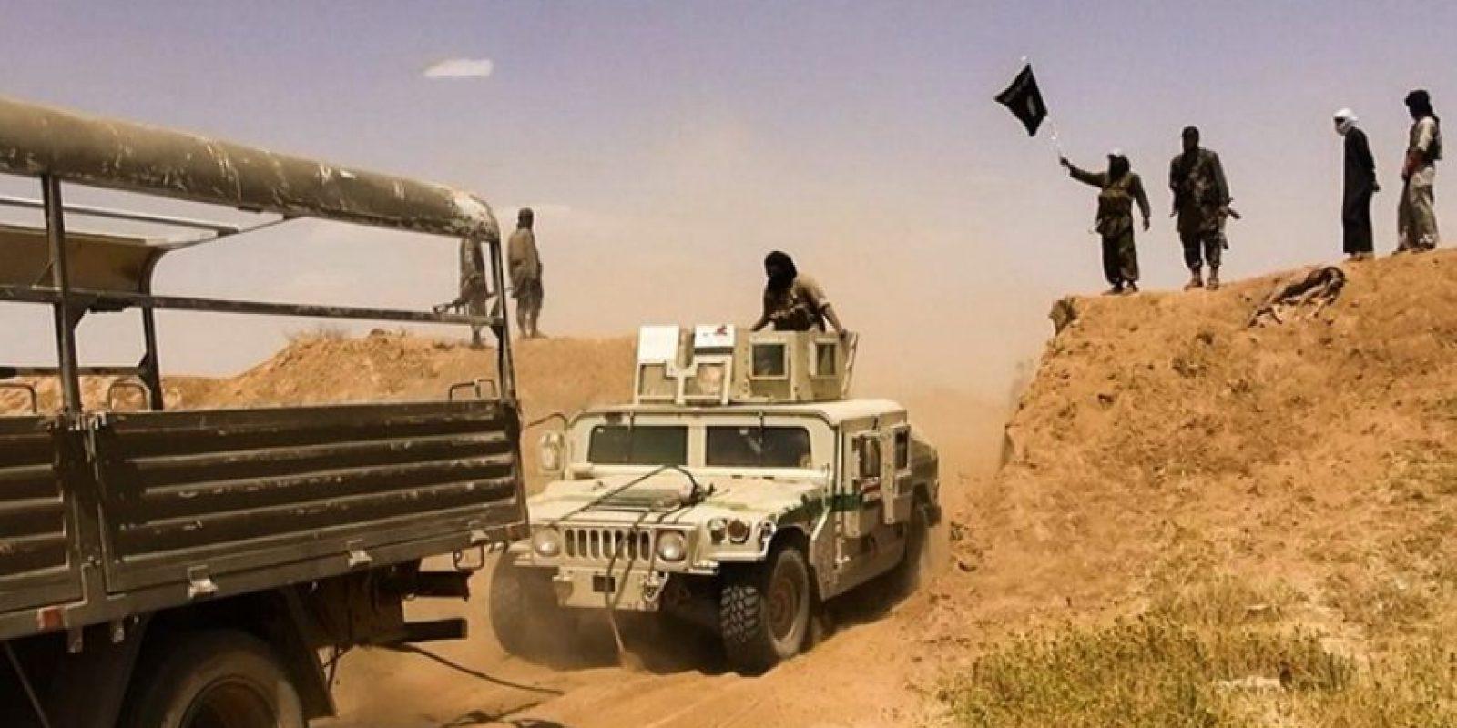 Combatientes del Estado Islámico (ISIS) en Medio Oriente. Foto:AFP
