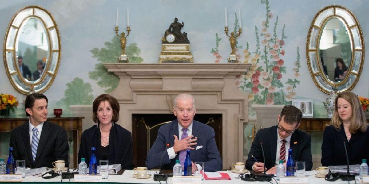 Reunión presidente Jimmy Morales con Joe Biden, 24 de febrero 2016