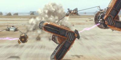 Video. La carrera de drones al estilo StarWars, es una sensación en Youtube