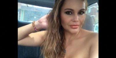"""Fue novia del traficante Wilbert Varela, alias """"El Jabón"""". Asesinada en 2011. Foto:Vía facebook.com/yovanna.guzman"""