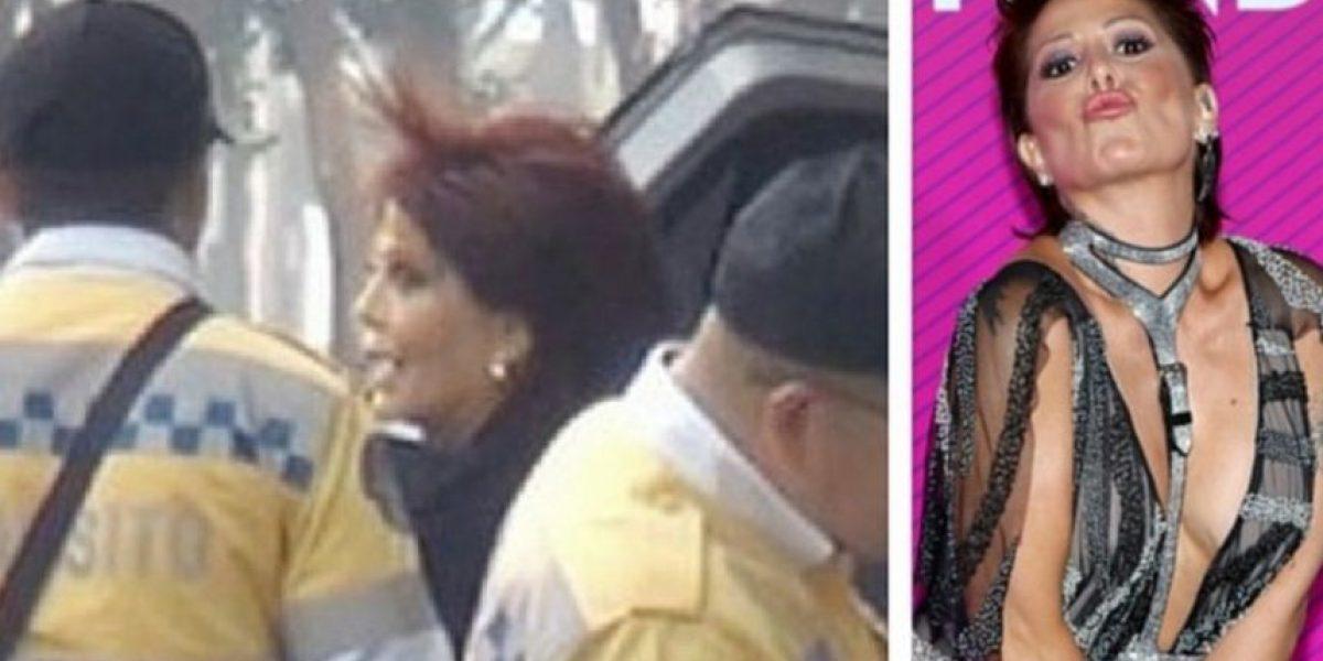 Gracias a su fama Alejandra Guzmán evitó ser castigada por la policía