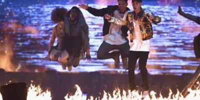 Así fue la actuación de Justin Bieber en los Brit Awards 2016 Foto:Getty Images