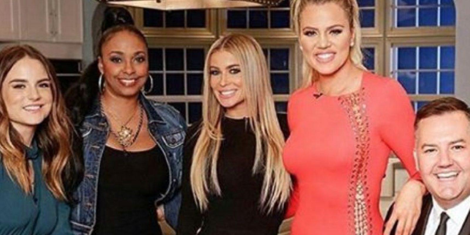 Carmen Electra fue invitada al programa de Khloé Kardashian Foto:Vía instagram.com/carmenelectra