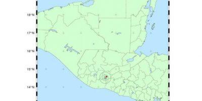 Temblor de 3.5 grados en Guatemala, hoy 25 de febrero de 2016