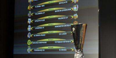 Llaves de los octavos de final de la UEFA Europa League 2015-2016