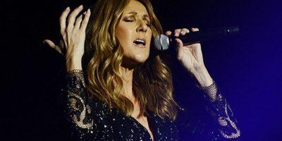 Celine Dion rompe en llanto en pleno concierto al recordar a su esposo