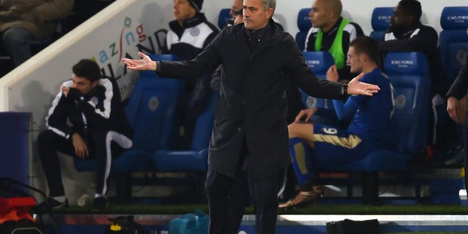 José Mourinho fracasó en su segunda etapa con el Chelsea Foto:Getty Images