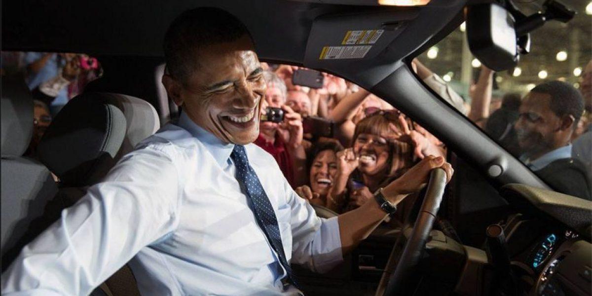 El primer empleo del presidente de Estados Unidos, Barack Obama