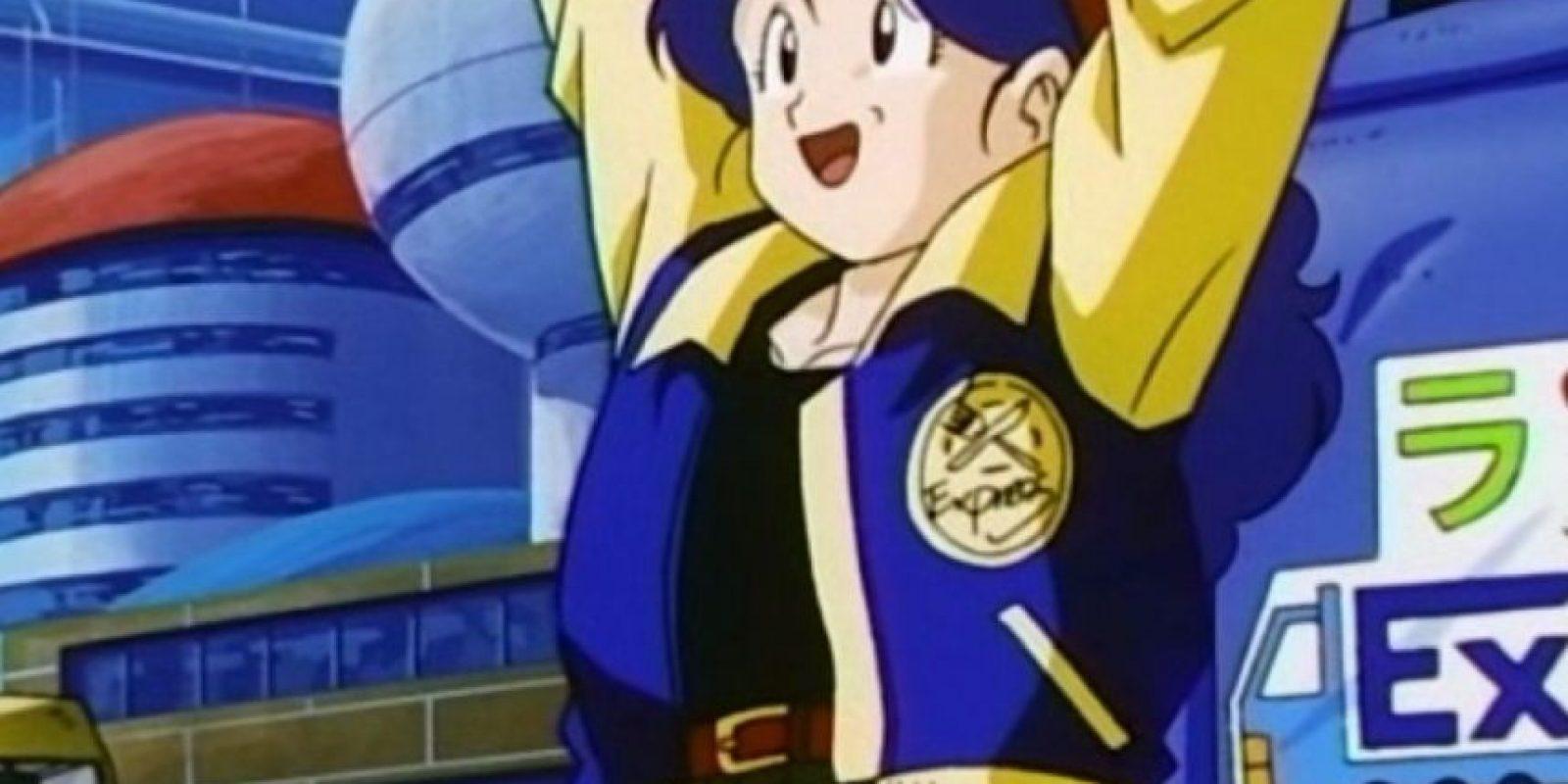 Launch era la mujer que ayudaba en casa del maestro Roshi. Cuando estornudaba se convertía en una ladrona agresiva. Aparece en la última temporada de Dragon Ball Z Foto:Toei