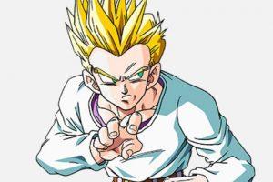 Goten es el segundo hijo de Gokú. Se parece físicamente a su padre. Foto:Toei