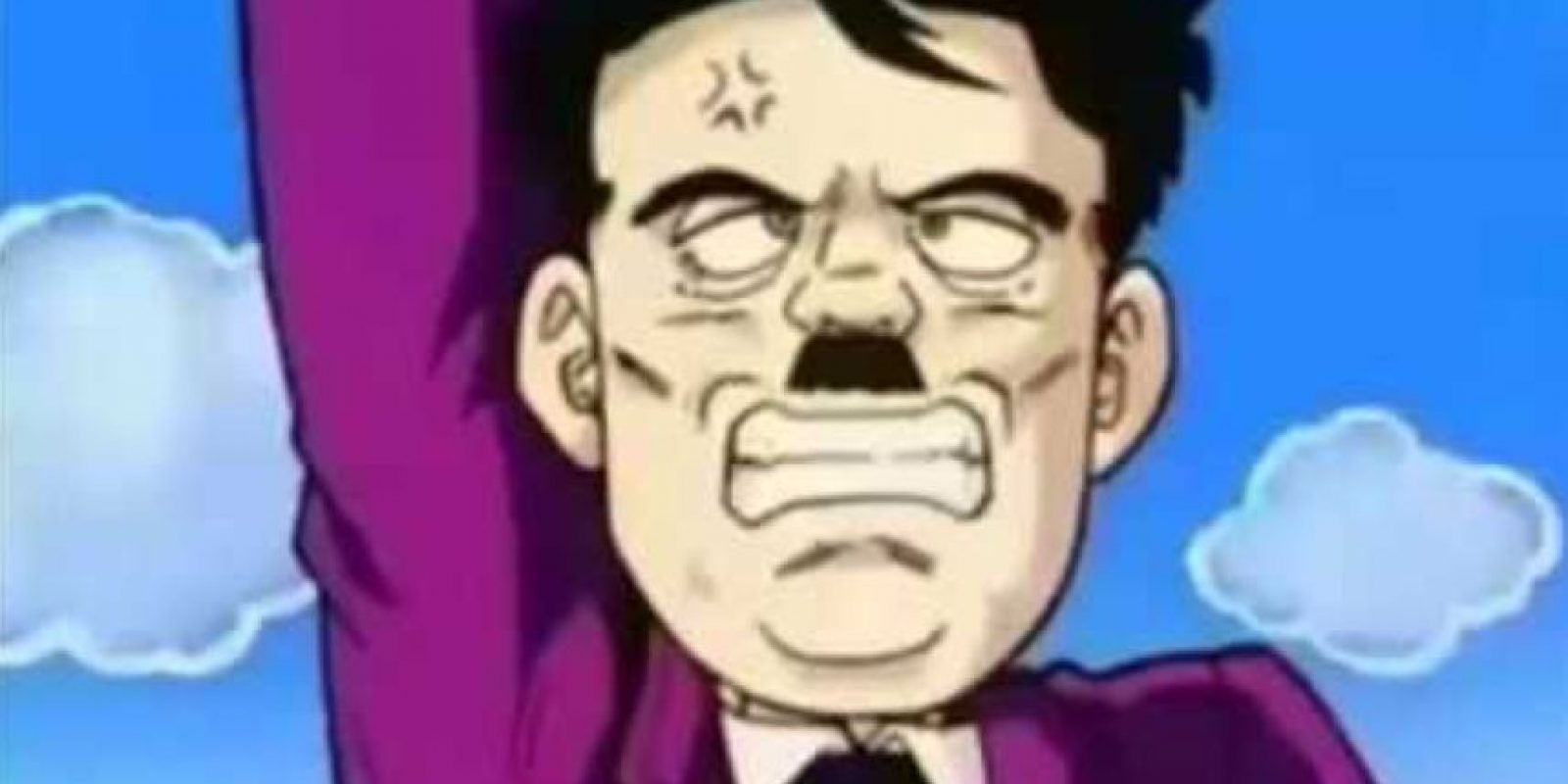 Asimismo Hitler, quien revive del infierno en uno de los OVA`S. Foto:vía Toei