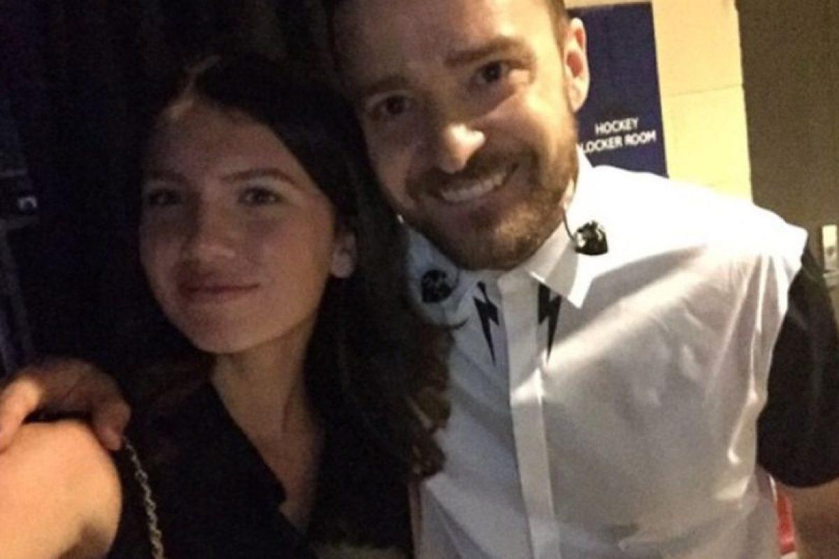 Justin Timberlake Foto:Vía Instagram/@maya_henry