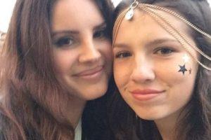 Lana Del Rey Foto:Vía Instagram/@maya_henry