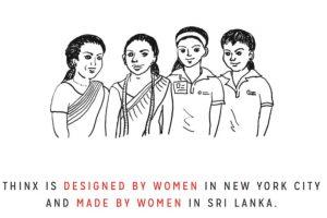 """Su CEO, Miki Agrawal, le contó a Forbes que quiere """"cambiar la cultura alrededor del periodo femenino y hacer sentir a las mujeres cómodas y libres con esta prenda"""". Foto:vía Thinx"""