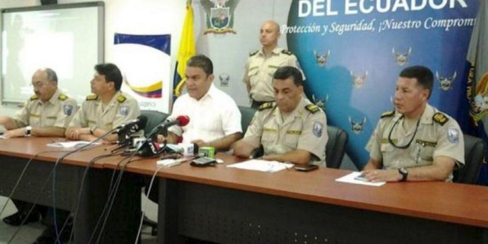 7. La policía de Ecuador comparte esta casilla. Foto:Twitter @PoliciaEcuador