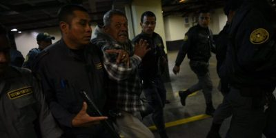EN IMÁGENES. Condenado por caso Sepur Zarco pierde los estribos