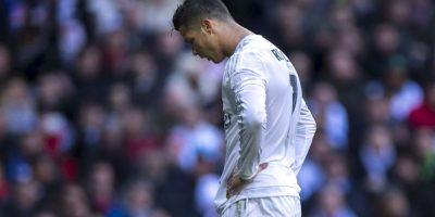 A Cristiano le dolió perder con el Atlético de Madrid Foto:Getty Images