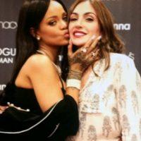 Rihanna reconoció su belleza en el Mundial de Brasil Foto:Vía instagram.com/natibetancurh4