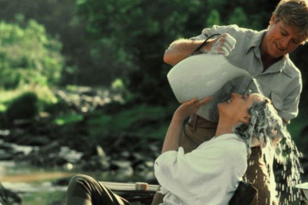 """""""Africa mía"""" es una cinta estadounidense de 1985 que obtuvo siete Premios Oscar, incluyendo el de mejor película, mejor dirección y mejor guión adaptado. Foto:Universal Pictures"""