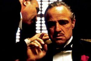 """El clásico filme """"El padrino"""" está basada en la novela del mismo nombre, de Mario Puzo. En 1973 ganó tres premios Oscar: mejor actor, mejor película y mejor guión adaptado. Foto:Paramount Pictures"""