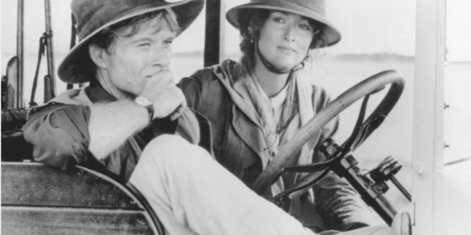 """""""Africa mía"""" es una cinta estadounidense de 1985, que obtuvo siete premios Oscar, incluyendo el de """"Mejor película"""", """"Mejor dirección"""" y """"Mejor guión adaptado"""". Foto:IMDB"""
