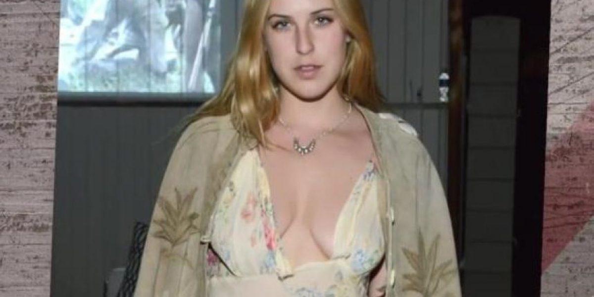 La hija de Demi Moore muestra su axila y algo más desagradable