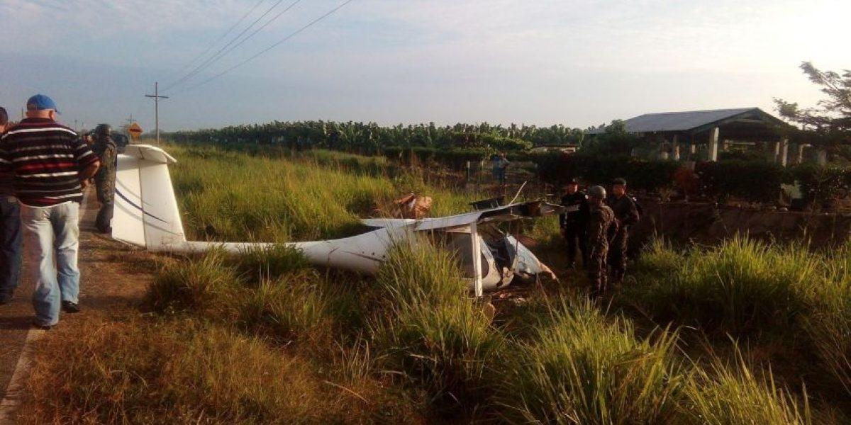 Se desploma avioneta en San Marcos: Investigan cargamento sospechoso