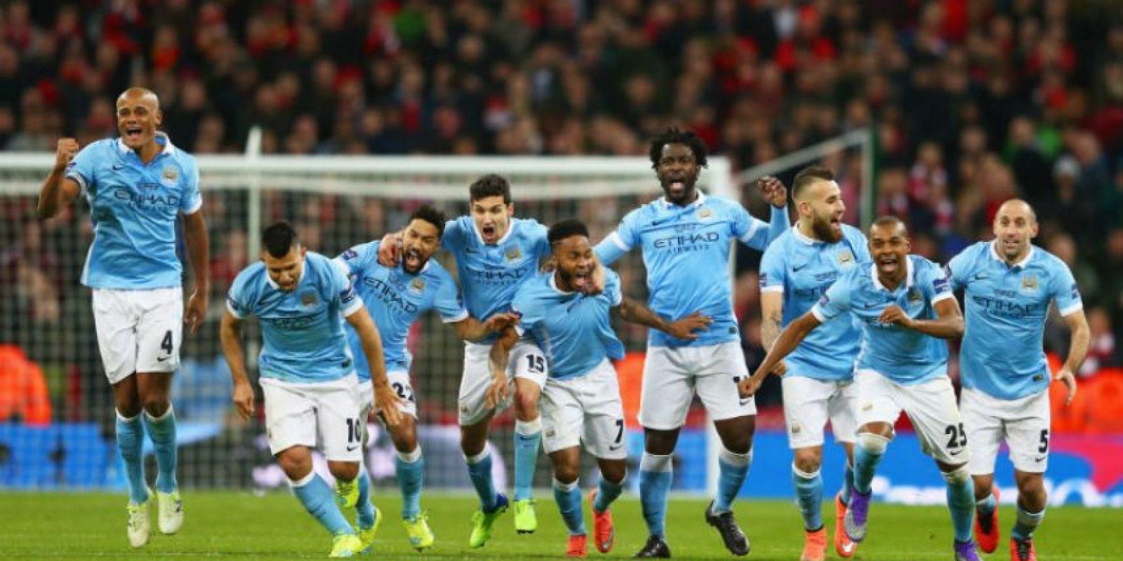 Manchester City se coronó campeón de la Copa de la Liga Foto:Getty Images