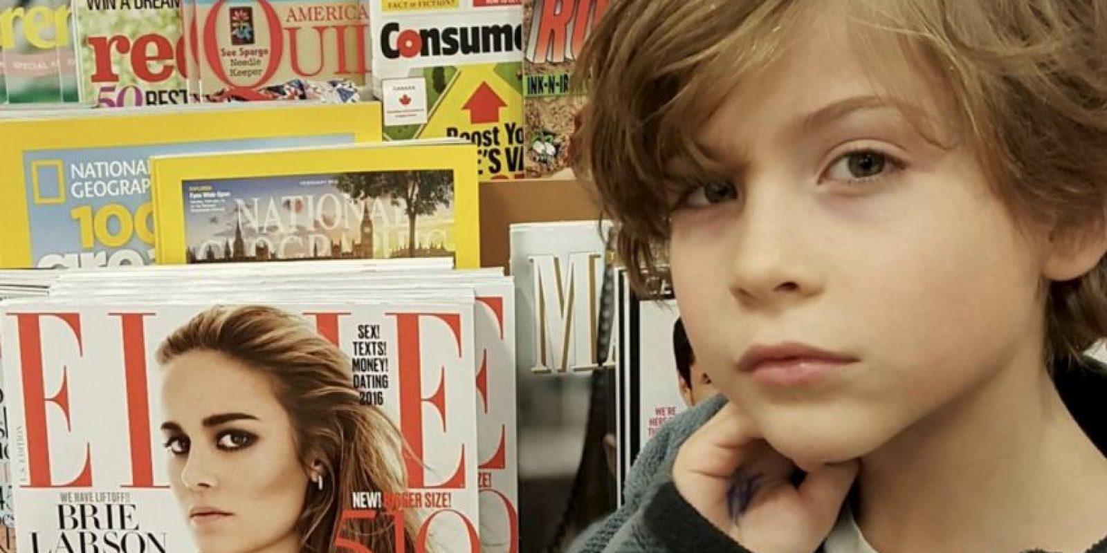 Tiene nueve años Foto:vía instagram.com/jacobtremblay