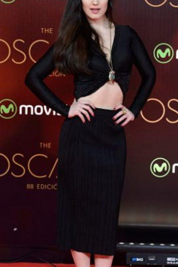 Sara Vega se disfrazó de Kylie Jenner para la ceremonia. Foto:vía Getty Images