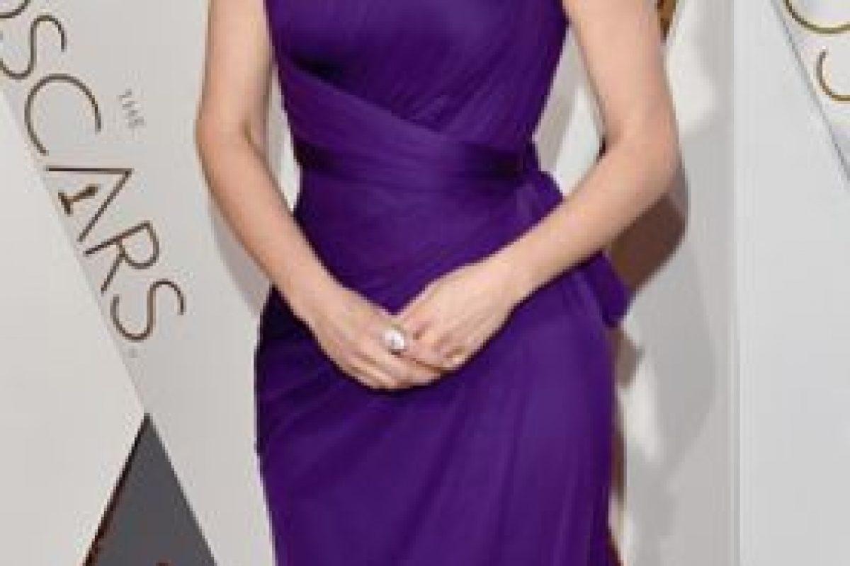 Tina Fey se ve bien, pero no llega al nivel que le hemos visto otras veces. Foto:vía Getty Images