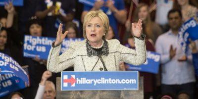 Hillary Clinton es la única mujer del Partido Demócrata interesada en la presidencia de Estados Unidos. Foto:AFP