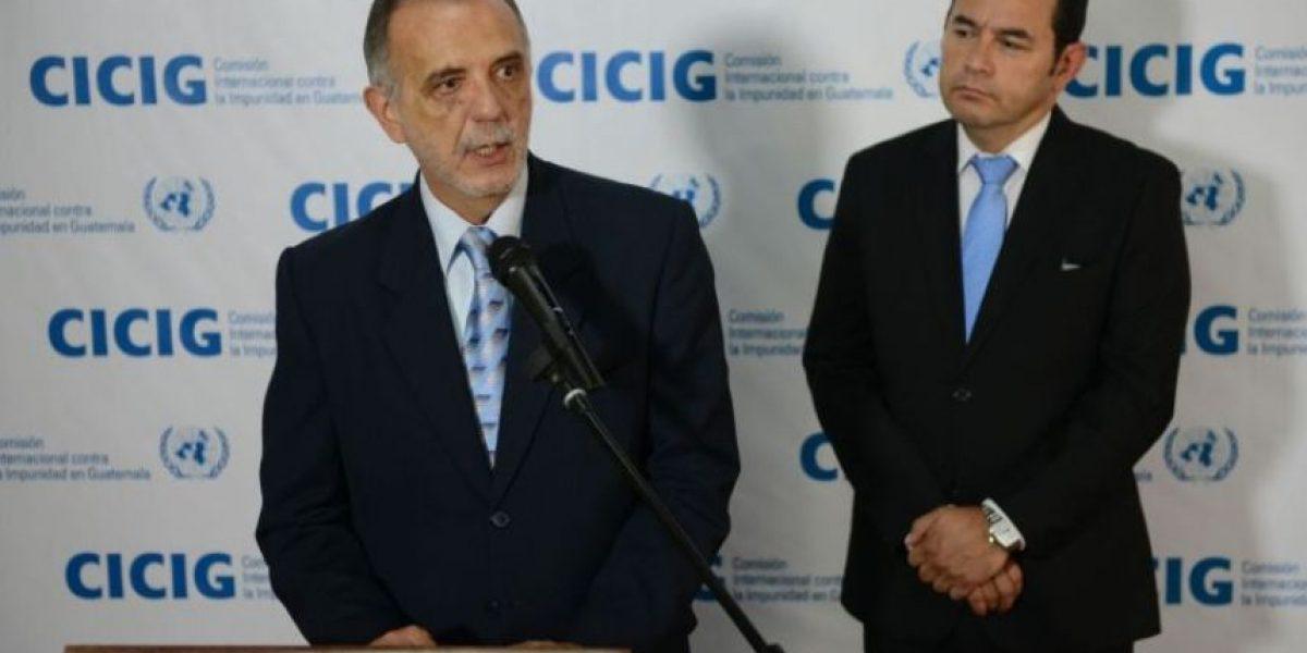 Morales le pedirá esta semana a la CICIG, al MP y a la CGG que