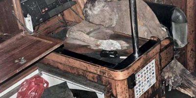 Murió cerca de la radio, pidiendo ayuda Foto:Facebook.com/barobo.policestation