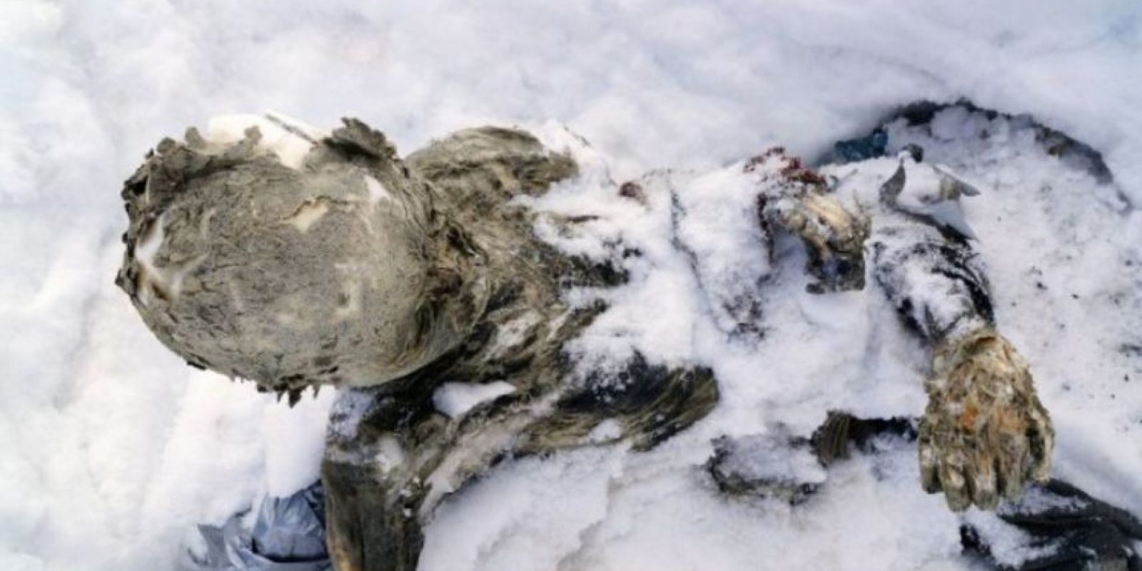 En el caso de los alpinistas encontrados en el Pico de Orizaba, se debe al frío extremo y constante del volcán Foto:AFP