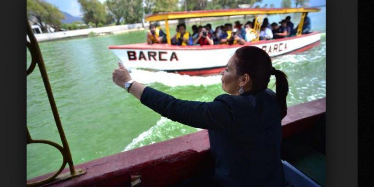 Roxana Baldetti será trasladada al Juzgado de Villa Nueva por el caso del lago de Amatitlán