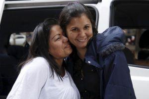 Jaqueline vive en Bogotá y Lorena en el municipio de Ibagué. Foto:AP