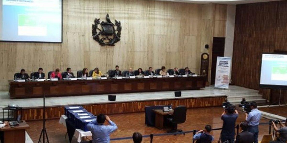 Magistrados realizan entrevistas a candidatos para integrar nueva Corte de Constitucionalidad