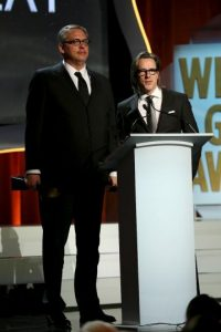 "Mejor guion adaptado – Adam McKay y Charles Randolph por ""The Big Short"" Foto: Getty Images"