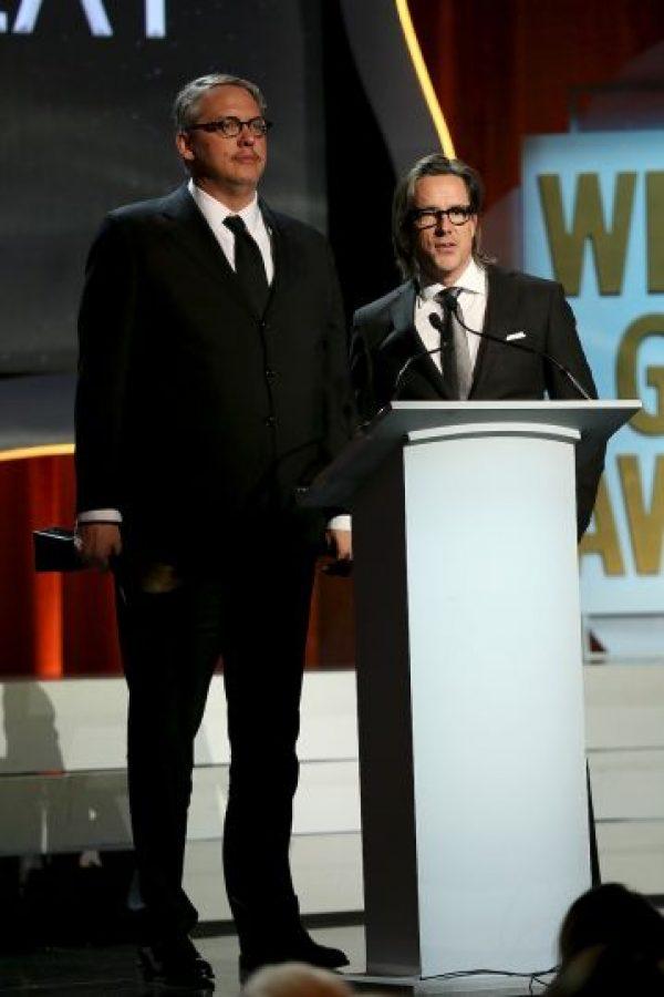 """Mejor guion adaptado – Adam McKay y Charles Randolph por """"The Big Short"""" Foto:Getty Images"""