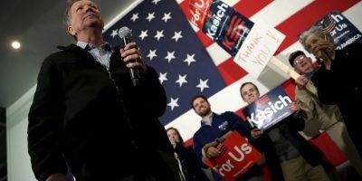 Junto con John Kasich Foto:AFP