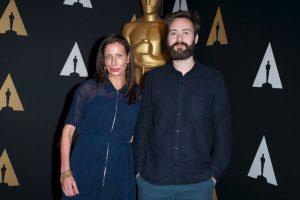 "Mejor corto – Benjamin Cleary y Serena Armitage por ""Stutterer"" Foto:Getty Images"