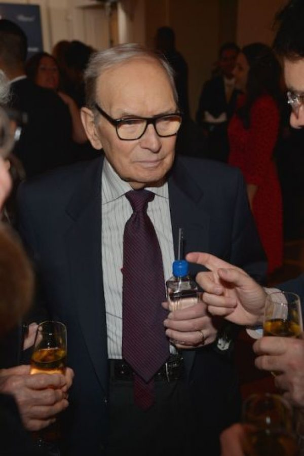 "Mejor soundtrack – Ennio Morricone por ""The Hateful Eight"" Foto: Getty Images"