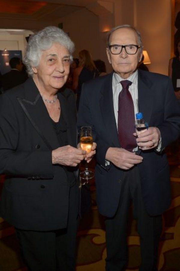 """Ganó el Oscar en la categoría de """"Mejor Banda Sonora"""" por Ganó por su trabajo en """"The Hateful Eight"""". Foto:Getty Images"""