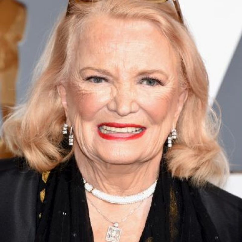 Oscar honorífico – La actriz Gena Rowlands Foto: Getty Images
