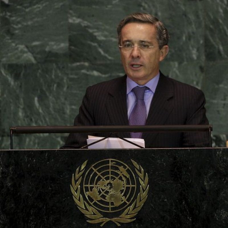 Expresidente Álvaro Uribe Vélez Foto:Getty Images